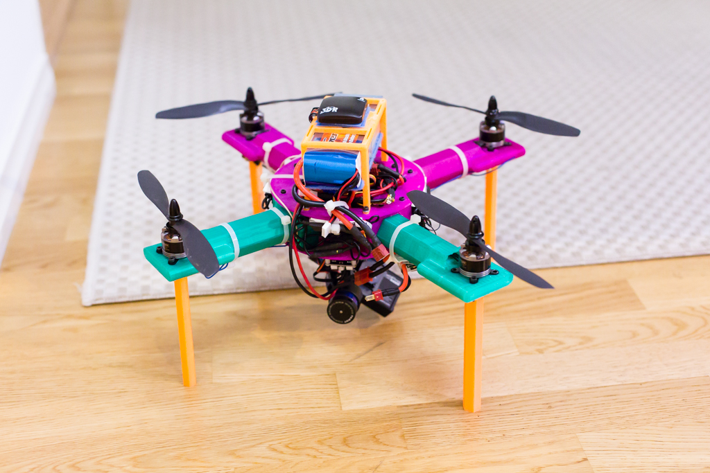 Fully printed RC Copter